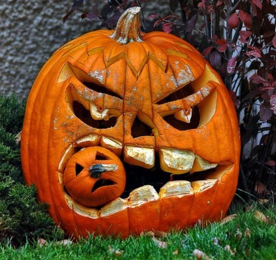 Hallowen-pumpkins