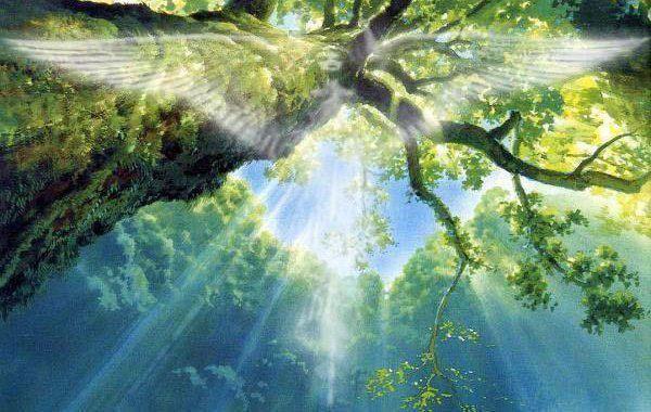 L'étrange voyageuse   Ange-dans-arbre